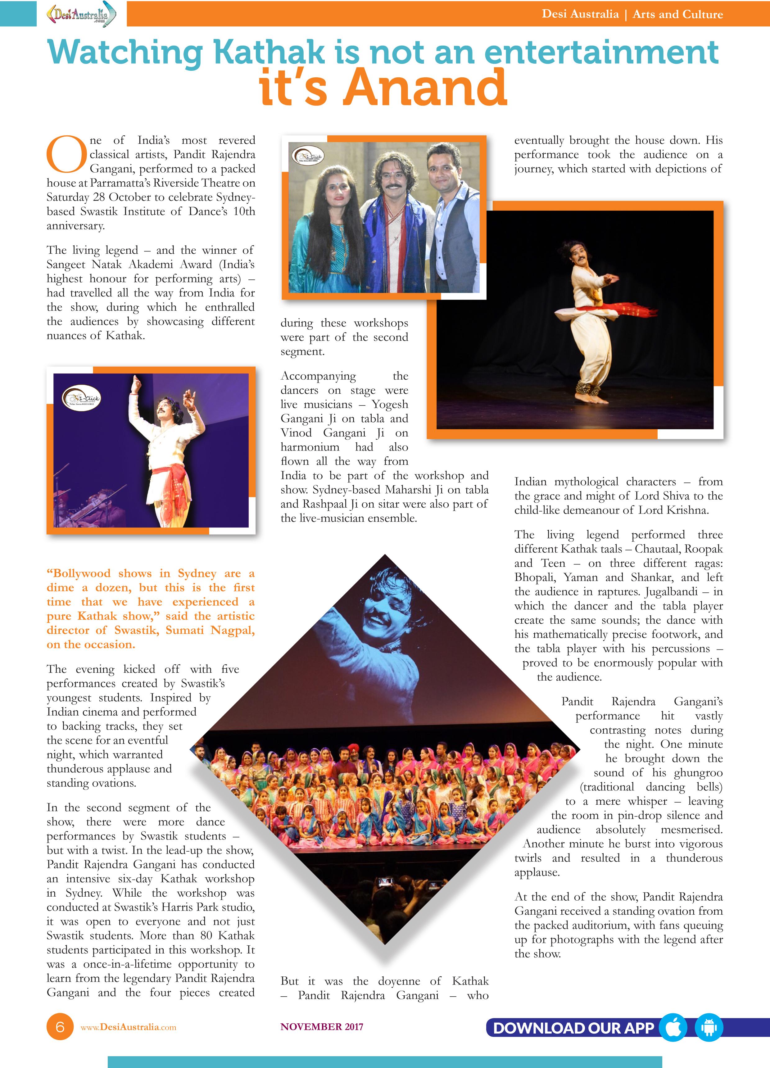 Issue – November 2017 – Desi Australia